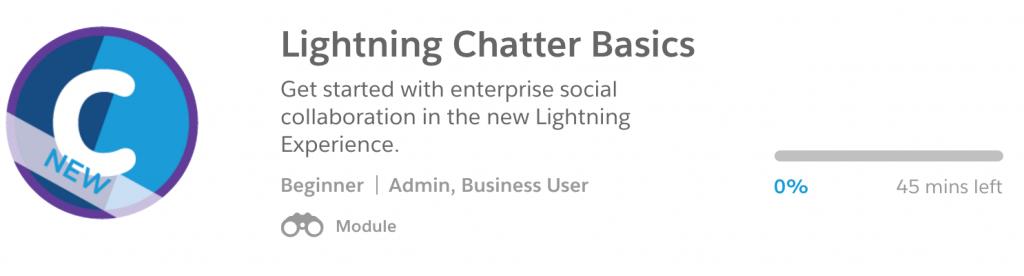 Lightning Chatter Basics