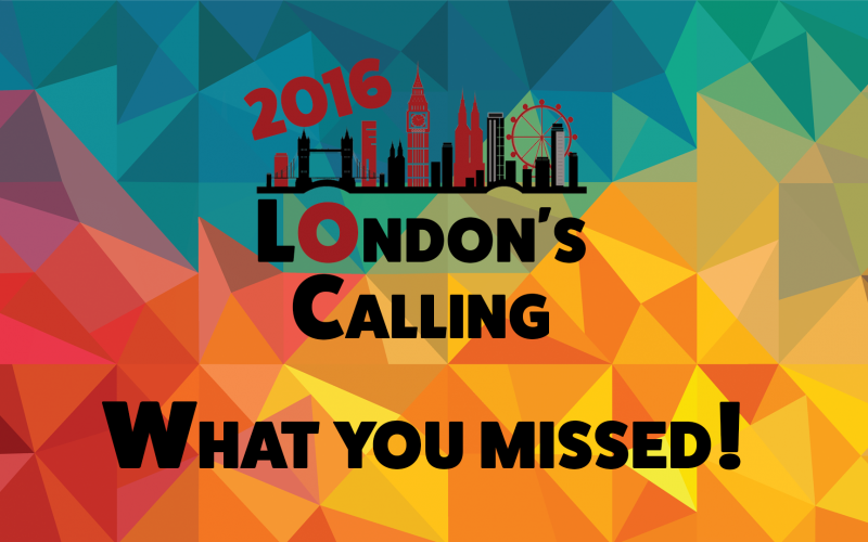 London's Calling what you missed & how it came together